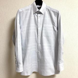 BURBERRY - バーバリー マイクロハウンドトゥース×シャドーノバチェック ボタンダウンシャツ