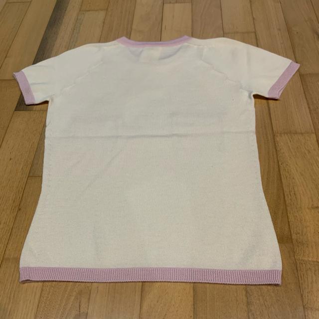 CHANEL(シャネル)のCHANEL  シャネル  カシミヤ  半袖ニット 38サイズ レディースのトップス(ニット/セーター)の商品写真