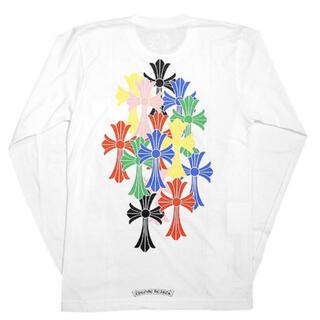 クロムハーツ(Chrome Hearts)のクロムハーツ マルチカラー セメタリークロス ロングスリーブTシャツ CHクロス(Tシャツ/カットソー(七分/長袖))