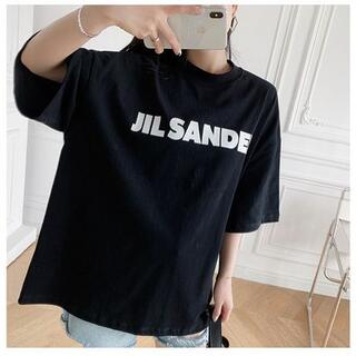 Jil Sander - 大人気中 JIL SANDER ジサンダー オーバーサイズ ロゴ Tシャツ