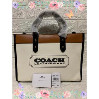 COACH - ★COACH★キャンバス フィールドトート30 トートバッグ 人気 夏モデル!!