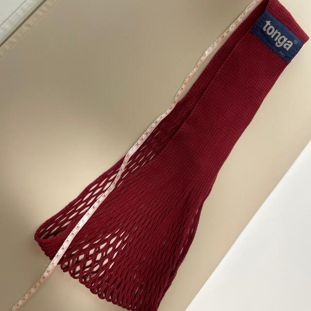 tonga(トンガ)のトンガ Sサイズ キッズ/ベビー/マタニティの外出/移動用品(抱っこひも/おんぶひも)の商品写真