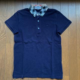 BURBERRY - お値下げ バーバリー ポロシャツ ネイビー 10Y  140
