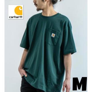 carhartt - カーハート Tシャツ グリーン 半袖 k87 緑 carhartt ポケット