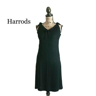 ハロッズ(Harrods)のHarrods ハロッズ ワンピース ブラック ドレス(ひざ丈ワンピース)