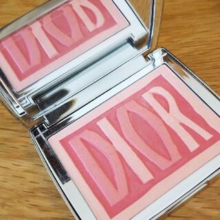 クリスチャンディオール(Christian Dior)のディオール チーク パレットアンテンポレル フェイスパウダー(フェイスパウダー)