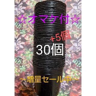 黒色ポリポット35個【6cm】(プランター)