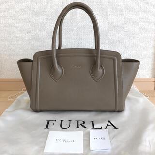 Furla - フルラ カレッジトートバッグ ダイノブラウン