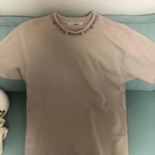 マルタンマルジェラ(Maison Martin Margiela)のacnestudios  ロゴTシャツ(Tシャツ/カットソー(半袖/袖なし))