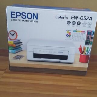 EPSON - エプソン プリンター新品未開封 インクジェット複合機 カラリオ EW-052A