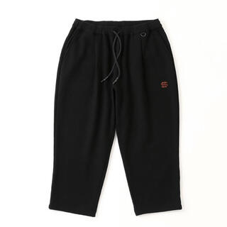 1LDK SELECT - L SEE SEE CROPPED SWEAT PANTS BLACK