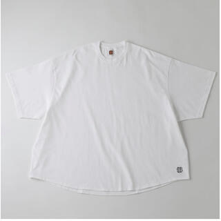1LDK SELECT - XL SEE SEE BIG S/S TEE WHITE
