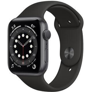 Apple Watch - Apple Watch Series 6(GPSモデル)44mmスペースグレイ