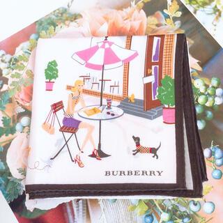 BURBERRY - ハンカチ