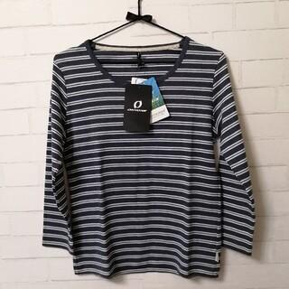 オンヨネ(ONYONE)の【新品】ONYONEレディス七分袖Tシャツ(虫よけ機能付き) Mサイズ ネイビー(登山用品)