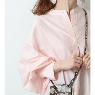 Spick and Span - スピック&スパン コットンシルク2wayシャツ ピンク