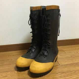 【新品未使用品】編上げ防火長靴[26cm EEE]