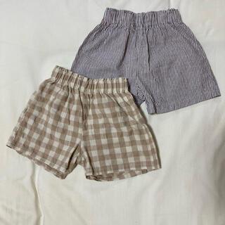 【美品】キッズ ハーフパンツ 80サイズ (パンツ)