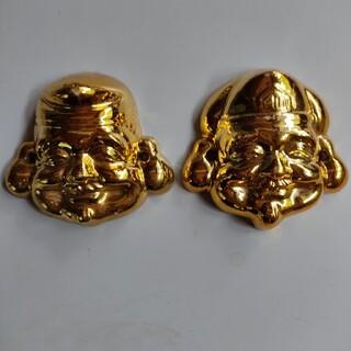 恵比寿 大黒 陶器 焼物 縁起物(彫刻/オブジェ)