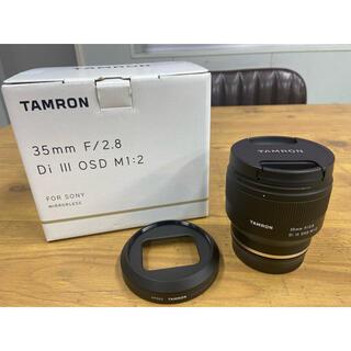 タムロン(TAMRON)のピーナッツ様⭐︎美品⭐︎TAMRON 35mm F/2.8 Di Ⅲ OSD (レンズ(単焦点))
