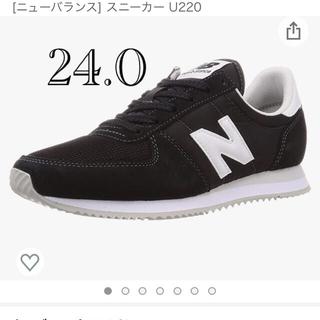 New Balance - new balance ニューバランス スニーカー ブラック 24