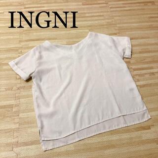 イング(INGNI)のイング ブラウス Tシャツ カットソー トップス(カットソー(半袖/袖なし))