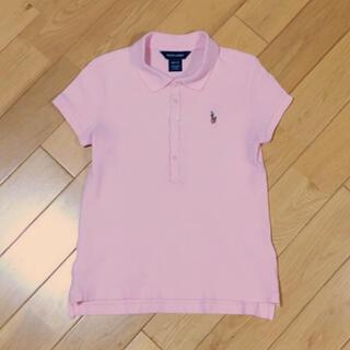 Ralph Lauren - 【140】ラルフローレン 半袖ポロシャツ 薄ピンク
