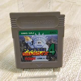 ゲームボーイ(ゲームボーイ)のGB アメリカ横断ウルトラクイズ PART4(携帯用ゲームソフト)