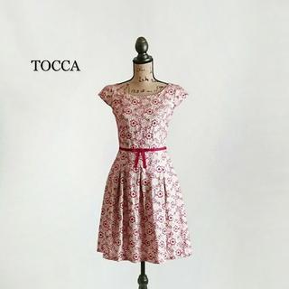 トッカ(TOCCA)のTOCCA トッカ ワンピース(ひざ丈ワンピース)