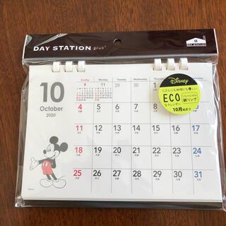 ディズニー(Disney)の未使用、2021年、ディズニー、ミッキー、卓上カレンダー(カレンダー/スケジュール)