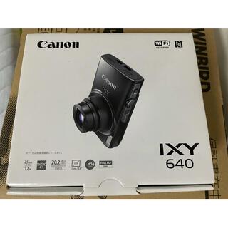 Canon - IXY640 黒 新品未使用