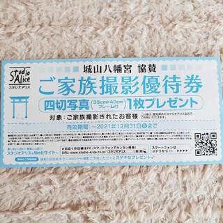 スタジオアリス ご家族撮影優待券 愛知県限定(その他)