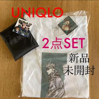UNIQLO - ✨呪術廻戦コラボ❷点セット✨五条悟Tシャツ&エコバッグ✨送料込