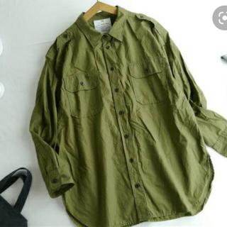 DEUXIEME CLASSE - Deuxieme Classe ミリタリーシャツ