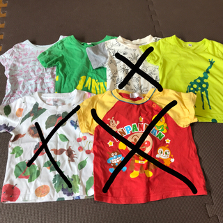 Design Tshirts Store graniph - キッズ半袖Tシャツ4枚セット 90男の子 女の子