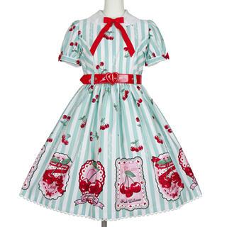 Angelic Pretty - 新品 Cherry Stamp OP 限定ミント