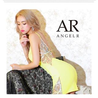 エンジェルアール(AngelR)のAngelR バックビジュー&スパンコールデザインタイトミニドレス❤︎(ナイトドレス)