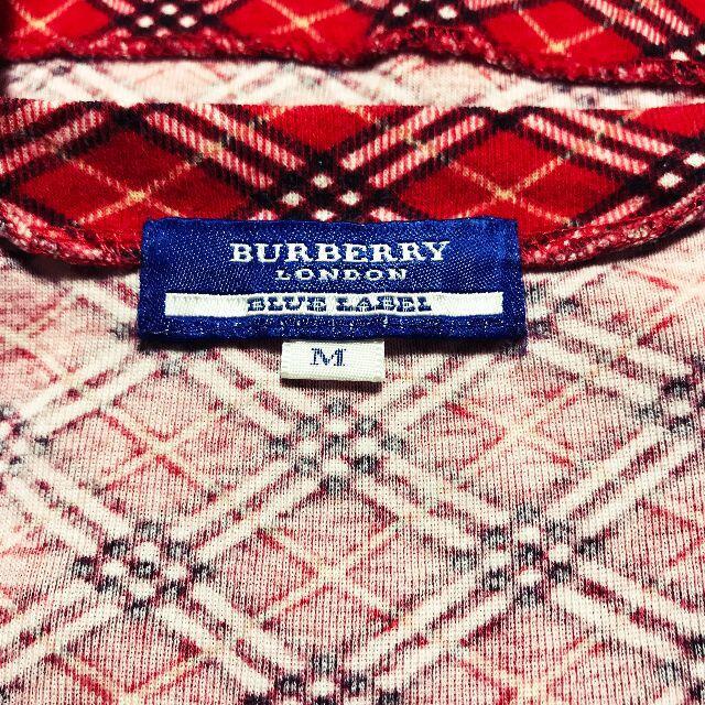 BURBERRY BLUE LABEL(バーバリーブルーレーベル)の【BURBERRY】ハウスノバチェック フレンチスリーブ カットソー レディースのトップス(カットソー(半袖/袖なし))の商品写真