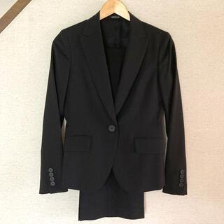 コムサデモード(COMME CA DU MODE)の【9号】ジャケット&パンツ ブラック(スーツ)