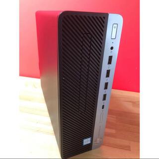 HP ProDesk 600G3デスクトップパソコン/メモリ8GB(デスクトップ型PC)
