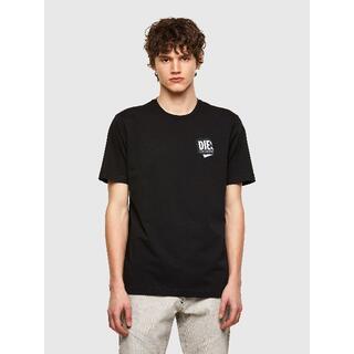 ディーゼル(DIESEL)の《今季アイテムお買い得》DIESEL ディーゼル Tシャツ ブラック Sサイズ(Tシャツ/カットソー(半袖/袖なし))