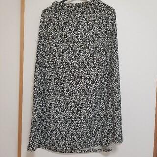 UNIQLO - UNIQLO 花柄スカート Lサイズ