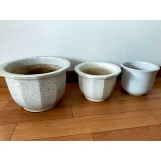 植木鉢3個(プランター)