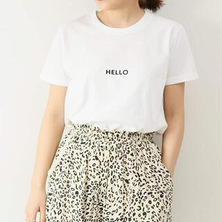 Spick and Span - ♡新品 アッパーハイツ upper hights HELLO Tシャツ
