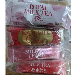 コストコ - 日東紅茶 4種フレーバーミルクティー