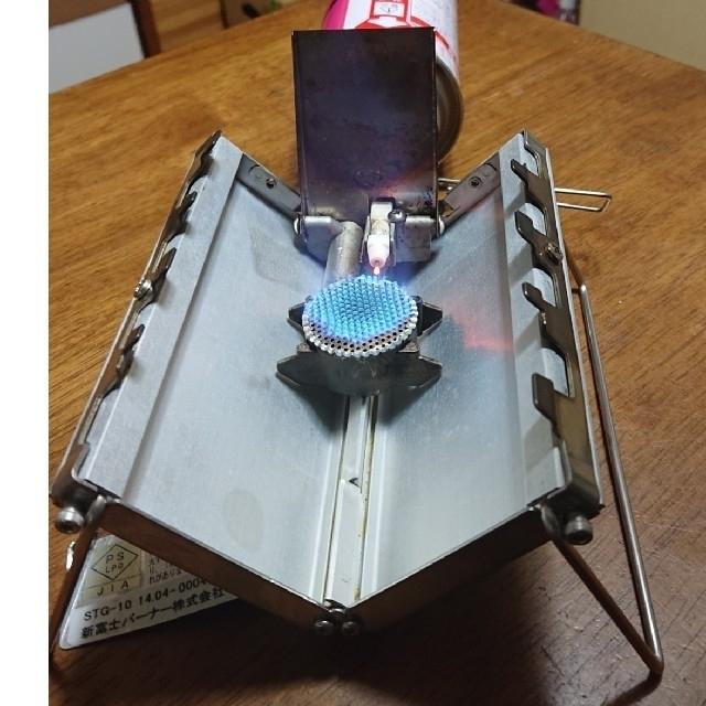 新富士バーナー(シンフジパートナー)の【値下げ】Sotoソト G'z Gストーブ STG-10 CB缶ガスバーナー スポーツ/アウトドアのアウトドア(ストーブ/コンロ)の商品写真