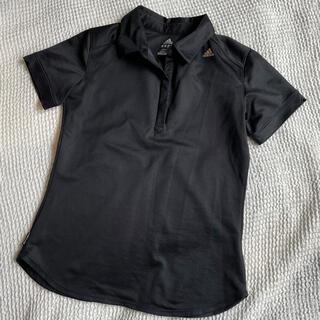アディダス(adidas)のadidas CLIMALITE ポロシャツ ブラック(ポロシャツ)