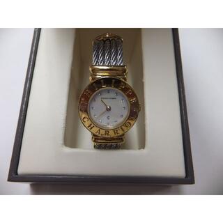 シャリオール(CHARRIOL)のサントロペ クォーツ シェル文字盤 レディース腕時計 箱付 7007901(腕時計)