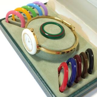 グッチ(Gucci)の2.超美品 グッチ GUCCI 時計 チェンジベゼル(腕時計)