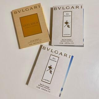ブルガリ(BVLGARI)のBVLGARI ブルガリ 香水 サンプル(香水(女性用))